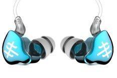 ราคา Tfz Series 1S หูฟัง Iem รุ่นล่าสุด บอดี้ Metailic สายฉนวนใสแบบใหม่ สีฟ้าอ่อน ที่สุด