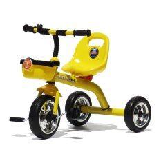 ขาย Thaiekn รถสามล้อเด็ก มีตะกร้า เหลือง A28 ใน Thailand