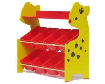 Thaiken ชั้นวางของ ชั้นเก็บของสำหรับเด็ก กวาง (Yellow) 8822
