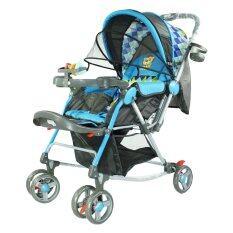 ราคา Thaiken รถเข็นเด็กเล็ก 218 สีฟ้า ใหม่