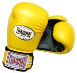 ขาย ซื้อ ออนไลน์ Thaismai นวมมวย Bg 124 Boxing Gloves Pu Two Tone เหลือง ดำ