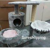 ราคา ที่นอนแมว คอนโดแมว ของเล่นแมว บ้านแมว ที่ลับเล็บแมว ที่ฝนเล็บแมว สีเทาเมทาลิค ถูก