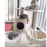 ส่วนลด สินค้า ที่นอนแมว คอนโดแมว ของเล่นแมว บ้านแมว ที่ลับเล็บแมว ที่ฝนเล็บแมว สีครีม