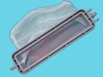 ถุงกรองเศษผงเครื่องซักผ้า LG แบบ 2 ถัง
