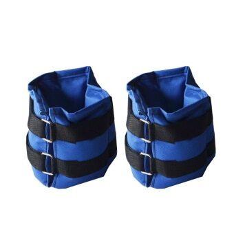 ถุงทรายข้อเท้า ถุงถ่วงน้ำหนักข้อเท้า 5 LB (2.5 kg) - สีน้ำเงิน / Ankel weight 5LB - Blue