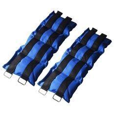 ราคา ถุงทรายถ่วงน้ำหนัก 10Lb 5 Kg สีน้ำเงิน