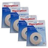 ส่วนลด สินค้า Tigerplast Sports Tape สปอร์ตเทป ป้องกันการบาดเจ็บ 25Mm X 9M 4ม้วน