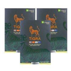 โปรโมชั่น Tigra 10 Capsules ไทก้า 10 แคปซูล X 3 กล่อง ใน กรุงเทพมหานคร