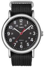 โปรโมชั่น Timex Weekender นาฬิกาข้อมือ รุ่น T2N647 Black Timex