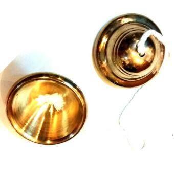 TK.ดนตรีไทย ฉิ่งทอง ลงหินอย่างดี ขนาด 5.5 เซนติเมตรเสียงใส กังวาล ทนทานแข็งแรง ใช่ได้กับทุกวงดนตรี