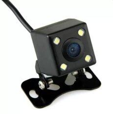 TKspyShop  กล้องมองหลัง กันน้ำ 4LED 170องศา รุ่น TK02 - Black