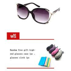 ราคา Tmall Fashion แว่นตากันแดด รุ่น T8009 Polarized Brown(Free Glasses Case Glasses Cloth) ใน ไทย