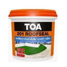 ขาย ซื้อ ออนไลน์ Toa 201 Roofseal อะครีลิคทากันซึมหลังคา ดาดฟ้า สีเทา 4 กก