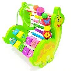 ราคา ราคาถูกที่สุด Todds Kids Toys ของเล่นเสริมพัฒนาการ ชุดลูกคิดและขดลวดไดโนเสาร์