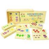 ขาย Todds Kids Toys ของเล่นเสริมพัฒนาการ ของเล่นไม้ เเผ่นไม้จับคู่ตัวเลขกับภาพ พร้อมโจทย์บวกเเละลบ ออนไลน์