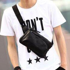 ขาย Tokyo Boy กระเป๋าหนัง คาดอก สะพายไหล่ผู้ชาย รุ่น Ng383 สีดำ ออนไลน์