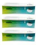 ราคา Tomei Anti Acne Cream โทเมอิ แอนตี้ แอคเน่ ครีม 5 G 3 หลอด เป็นต้นฉบับ Tomei