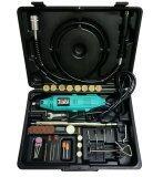 Tools Pro เครื่องเจียรมินิ ปรับรอบได้ สายอ่อน Accessories 35 ชิ้น สีเขียว ไทย