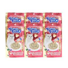 ซื้อ Toro Toro โทโร โทโร่ ขนมแมวเลีย รสทุน่าและปลาโออบแห้ง 15G X 4 แพ็ค 6 ชิ้น ออนไลน์ ถูก