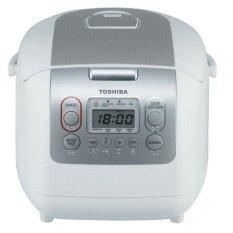 ซื้อ Toshiba หม้อหุงข้าว ความจุ 1 ลิตร รุ่น Rc 10Nmf Wt A สีขาว