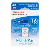 ซื้อ Toshiba 16Gb Flashair Sd Card With Wifi ใหม่