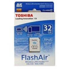 ซื้อ Toshiba 32Gb Flashair Sd Card With Wifi