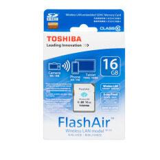 ส่วนลด Toshiba Flashair Wireless Sd Card 16Gb