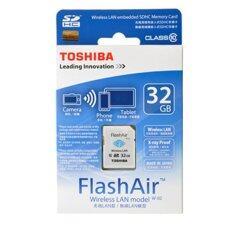 Toshiba Flashair Wireless Sd Card 32Gb ใหม่ล่าสุด