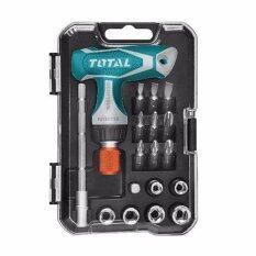 ขาย ซื้อ Total ชุดไขควงอเนกประสงค์ 18 ตัวชุด รุ่น Tacsd30181 Thailand