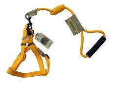ขาย ซื้อ Touch Dog สายรัดอกพร้อมสายจูงไนลอน สีเหลือง เชียงใหม่