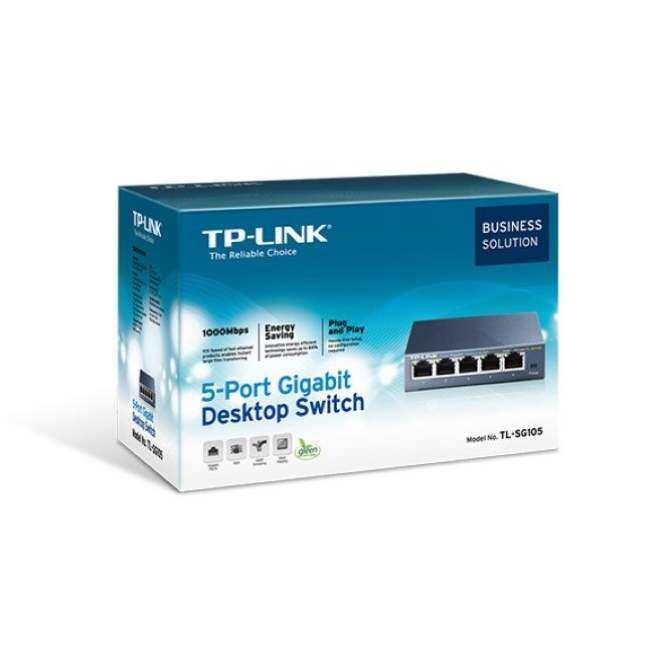 TP-LINK 5-Port Gigabit Ethernet Desktop Switch (TL-SG105)