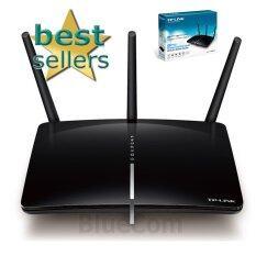 ราคา Tp Link Archer D2 Adsl2 Router Ac750 Wireless Dual Band 433 300Mbps Gigabit Usb ใหม่ ถูก