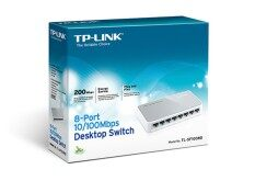 Tp Link Switch Hub 8 Port 10 100 Tl Sf1008D สีขาว ถูก