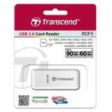 ทบทวน Transcend Rdf5 Sd Micro Sd Usb3 Card Reader In White Transcend