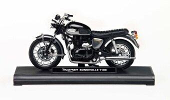 Triumph โมเดล Triumph Bonneville T100 Black