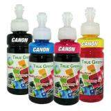 ซื้อ True Green Inkjet Refill 100Ml Canon All Model B C M Y ชุด 4 ขวด ถูก