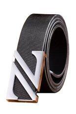 ราคา Trusty Men S Belt เข็มขัดผู้ชาย รุ่น Double Z 0762 สีดำ ใหม่