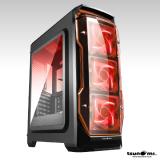 ซื้อ Tsunami X Storm Usb 3 Gaming Case With Led 12 Cm Fan X 3 Kr ถูก
