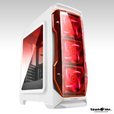ราคา Tsunami X Storm Usb 3 Gaming Case With Led 12 Cm Fan X 3 Wr ใน Thailand