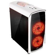 ซื้อ Tsunami X7 Series Usb 3 Gaming Case With 15 Pcs Led Fan 12 Cm X 2 Wr ออนไลน์ ถูก