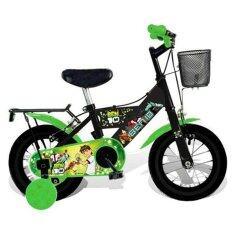 ขาย Turbo Bicycle จักรยาน Ben10 12 สีดำเขียว ออนไลน์