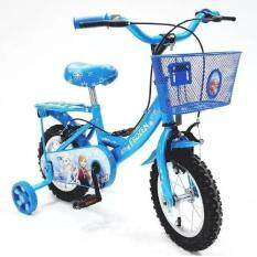 ราคา Turbo Bicycle จักรยานรุ่น Frozen 12 สีฟ้า Turbo ใหม่