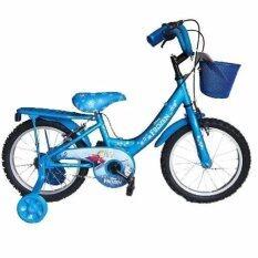 ราคา Turbo Bicycle จักรยานรุ่น Frozen 16 สีฟ้า ใน กรุงเทพมหานคร