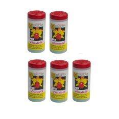 ส่วนลด สินค้า Twinfirty Fertilizer ปุ๋ยเกล็ด อาหารเสริมต้นไม้ 21 21 21 B1 100 กรัม 5 ขวด สีเหลือง