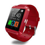 U Watch Bluetooth Smart Watch รุ่น U8 Red เป็นต้นฉบับ