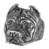 ขาย U7 สเตนเลสสตีล Bulldog รูปผู้ชายวงแหวน U7 ผู้ค้าส่ง