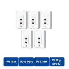 Ubiquiti Uap Iw 5 Unifi In Wall 2 4Ghz Ap Pack 5 White ใหม่ล่าสุด