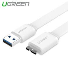 ขาย ซื้อ Ugreen 1 5M Usb 3 Charging And Data Sync Cable For Samsung Note 3 S5 White Intl
