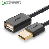 ราคา Ugreen High Speed 480Mbps Gold Plated Usb 2 Extension Cable 2M Black Intl ถูก
