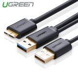 ราคา Ugreen Super Speed Usb 3 Y Splitter Adapter Cable Charging And Data Sync Cord 1 5M Intl เป็นต้นฉบับ Ugreen